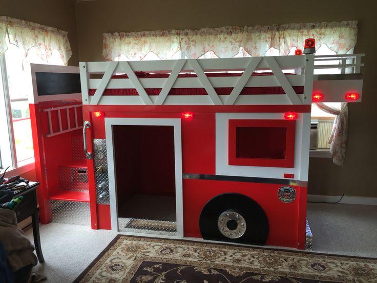 25 Unique Fire Truck Beds Ideas On Pinterest Fire Truck