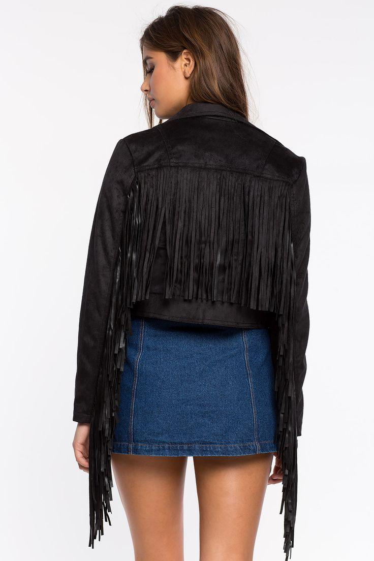 Замшевая куртка Размеры: S, M, L, XL Цвет: черный Цена: 2713 руб.     #одежда #женщинам #куртки #коопт