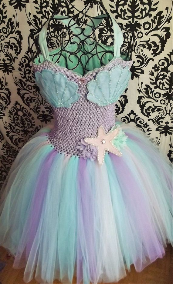 Mermaid Costume/Adult Tutu/Adult Tulle by LoveTutuCouture on Etsy