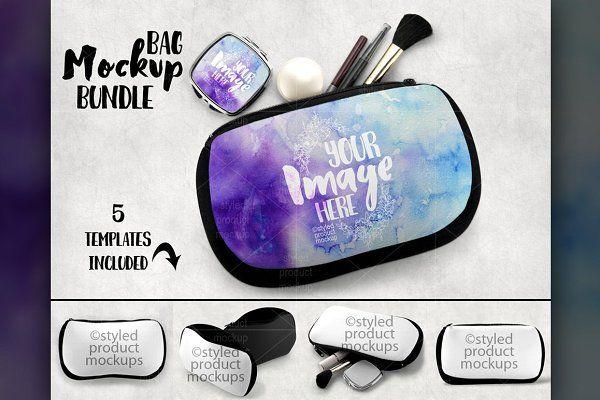 Download Cosmetic Bag Mockup Psd Mockup Free Mockups Psd Bag Mockup Mockup Template Cosmetic Bag