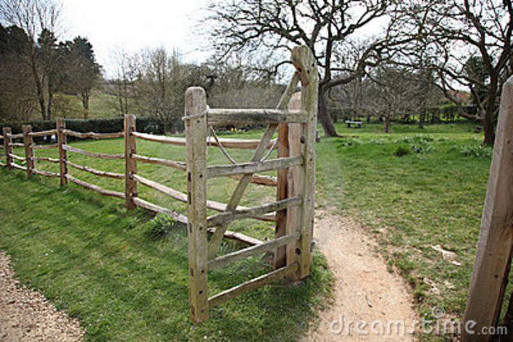 Farm Entry Gates Rustic Traditional Farm Gate Entrance