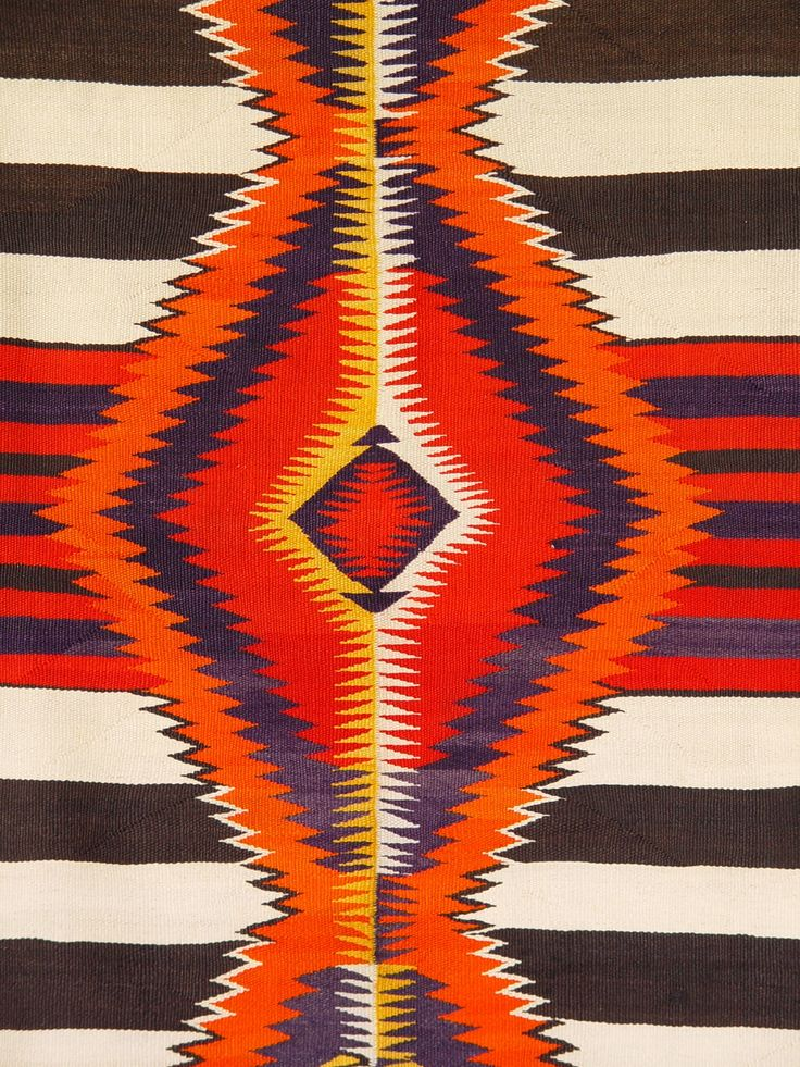 1951 Chief Blanket Navajo Weaving