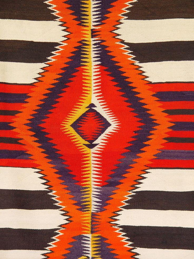 1951 Chief Blanket Navajo Weaving D1