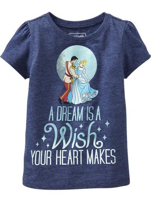A dream is a wish your heart makes - Cinderella top