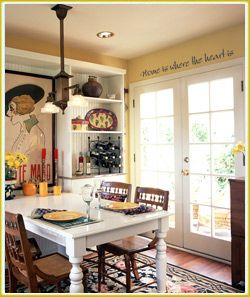 1000 images about kitchen on pinterest small kitchens for Dining room ideas with french doors