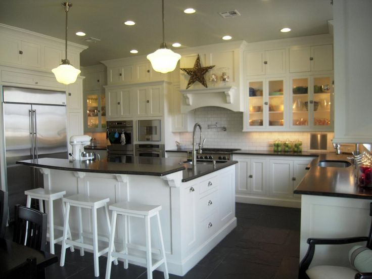 Farmhouse Kitchen White Cabinets 1044 best cottage/farmhouse kitchens images on pinterest | chip