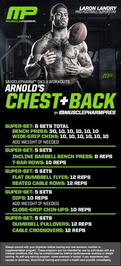 Chest and back workout                                                                                                                                                                                 More