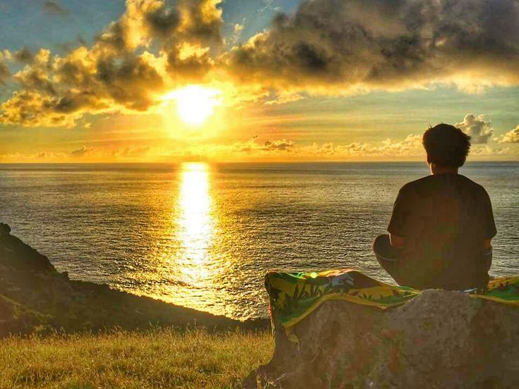 sunrise, me time at Rafang Cliff, Itbayat, Batanes