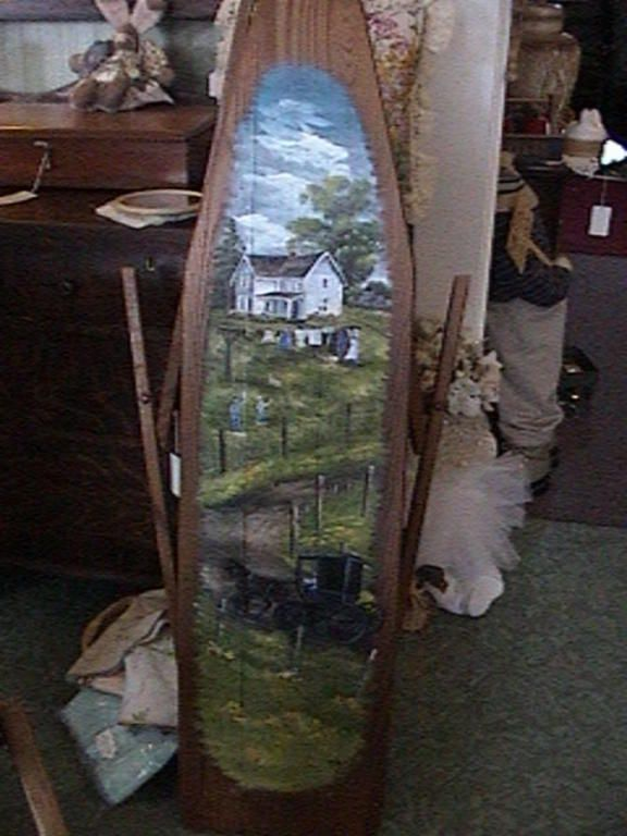 """Amish Farm Ironing Board"" by Jan Perdew"