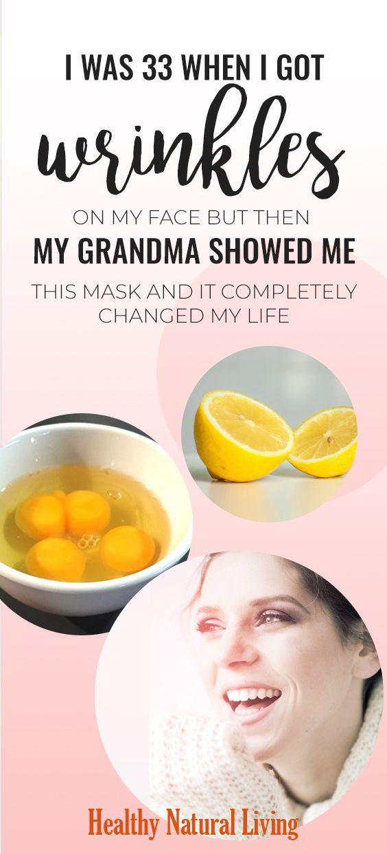 Ich war 33, als ich Falten im Gesicht bekam, aber dann zeigte mir meine Oma diese Maske und sie veränderte mein Leben komplett