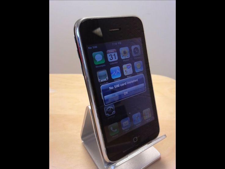 Apple iPhone 3G - 8GB - Black (MB046LL) (AT&T) Smartphone - Poor #3192 | eBay