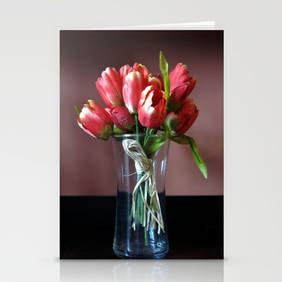 FLOWER VASE Stationery Cards by Diane Perkins Photography - $12.00