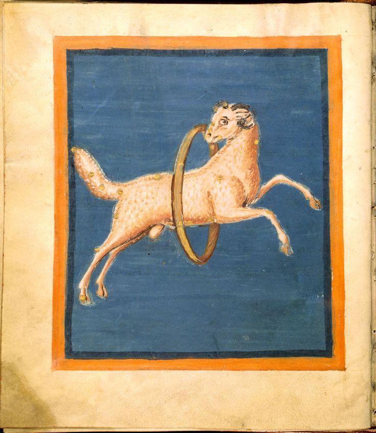 Aratea de Leiden - Constelación de Aries