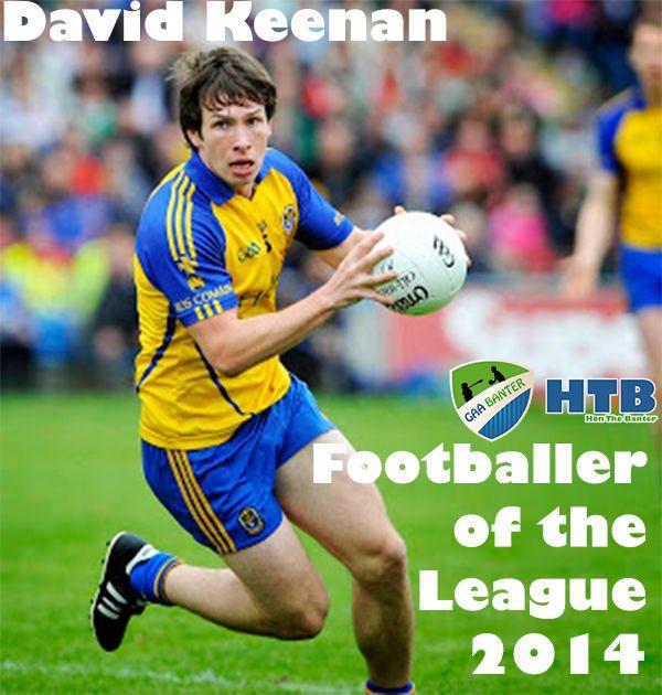 The GAA Banter Footballer of the League 2014 is…