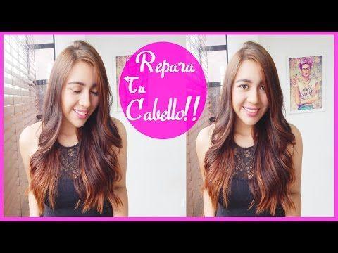 CABELLO PERFECTO! MASCARILLA PARA REPARAR EL CABELLO SECO Y CHICLUDO (DECOLORADO) ❤ - Kelly - YouTube