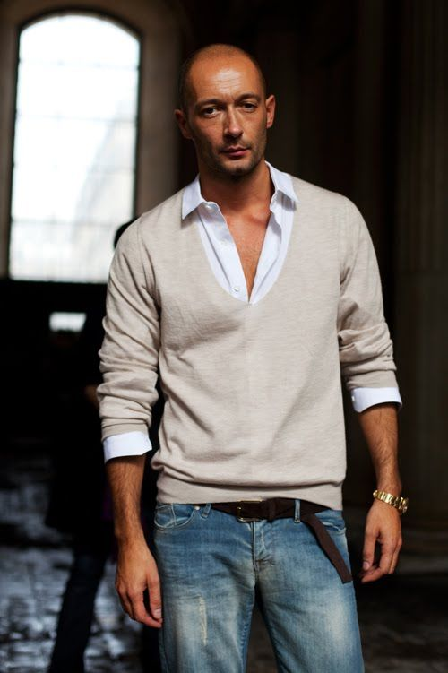 French men do casual very, very well...