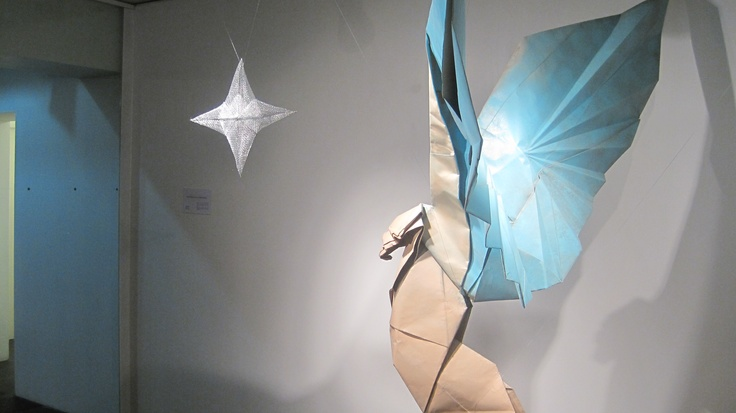 Origami en honor al festival de Tanabata.