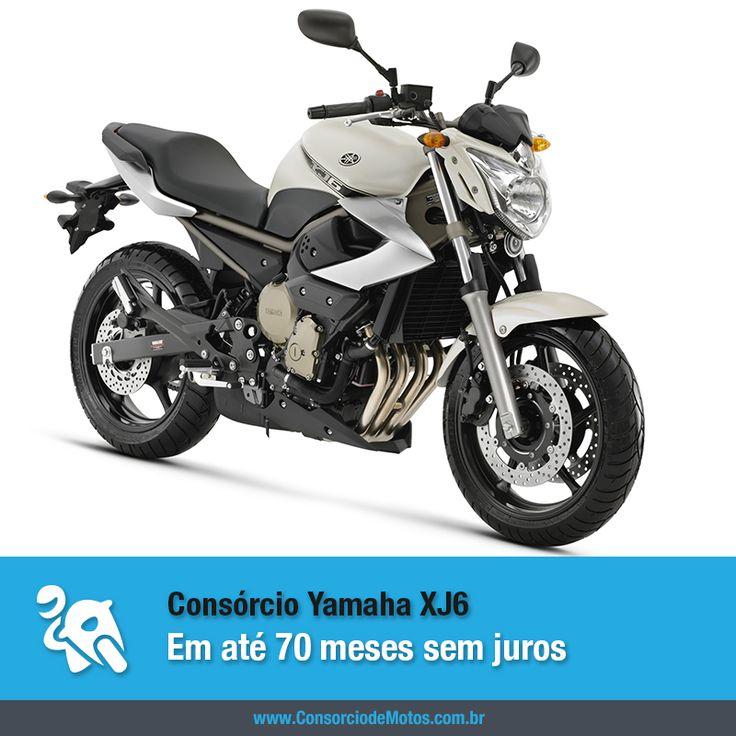 Uma das motos mais bonitas e potentes do mercado brasileiro é a Yamaha XJ6, que em três versões de tirar o fôlego, agrada os apaixonados por duas rodas. Veja: https://www.consorciodemotos.com.br/noticias/yamaha-xj6-em-ate-70-meses-pelo-consorcio-de-motos?idcampanha=288&utm_source=Pinterest&utm_medium=Perfil&utm_campaign=redessociais