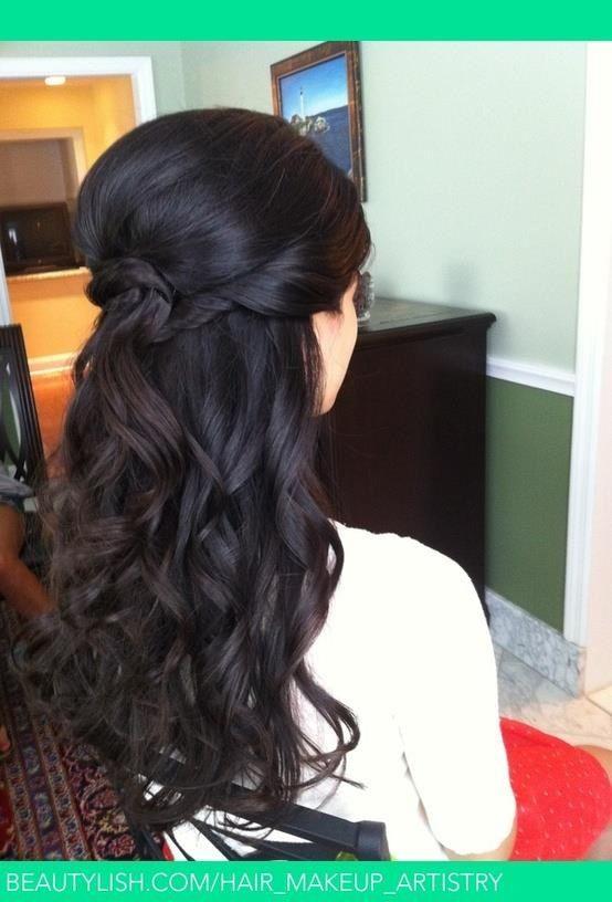 16 Overwhelming Half Up Half Down Wedding Hairstyles  Bea