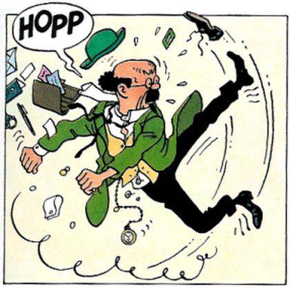 Flight 714 - Tintin