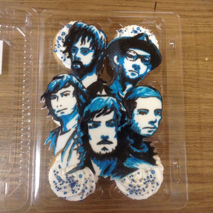 #zoe #rocanlovers #cupcakes #fondantart #zoetheband