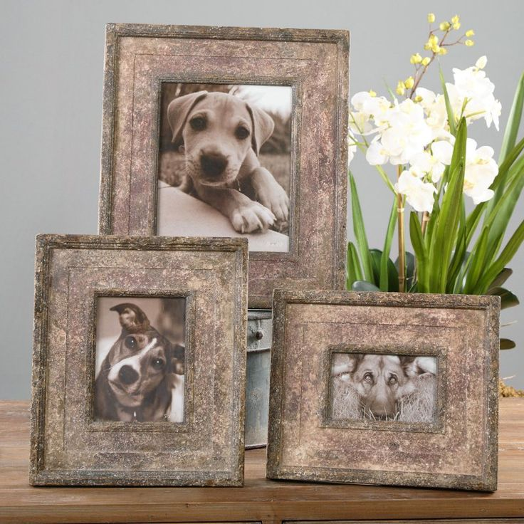Uttermost Zana Red Photo Frames - Set of 3 - 18570