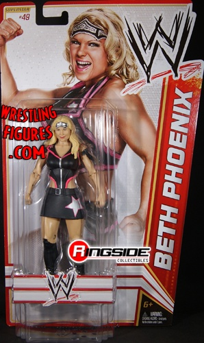 RINGSIDE COLLECTIBLES WWE Toys, Wrestling Action Figures, Jakks Pacific, Classic Superstars Action F: BETH PHOENIXWWE SERIES 21BACK-ORDERMID-AUGUST