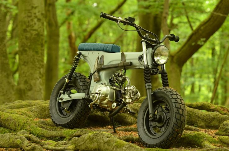 BUBBLE VISOR: Honda Dax by Smotz