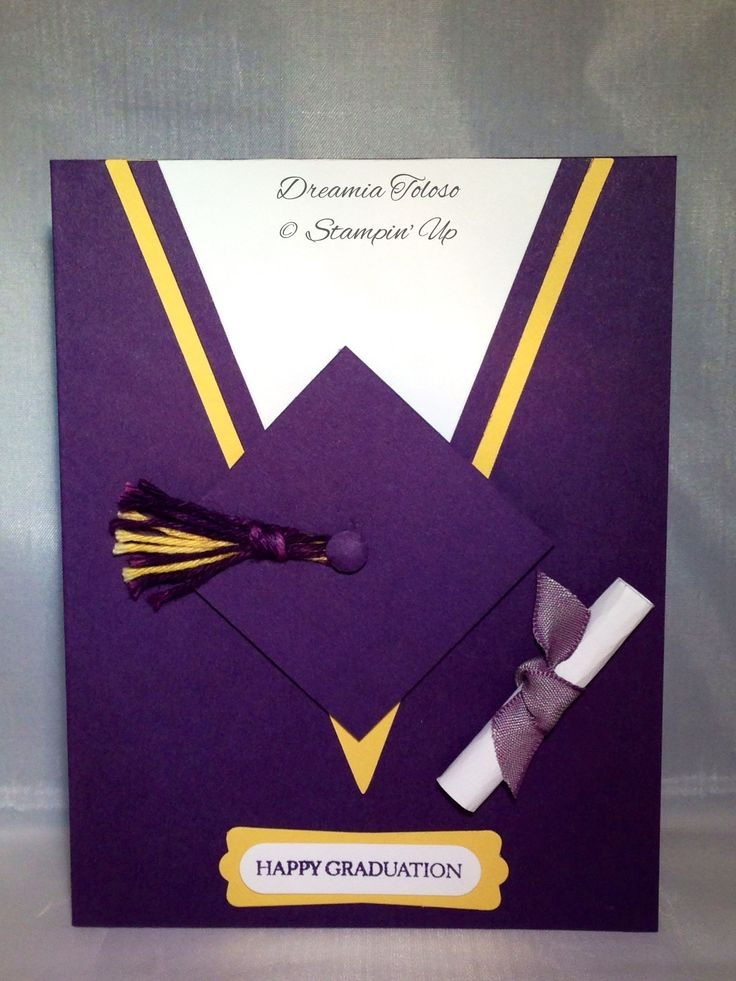 Graduation Card. SU Perfect Pennants Bigz die and Teeny Tiny Wishes stamp set.