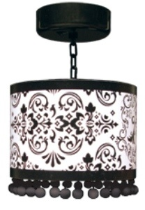 Ok so, I am not THAT into locker chandeliers, but I have to admit, this one is cute. (mostly because it isn't a big shiny one)