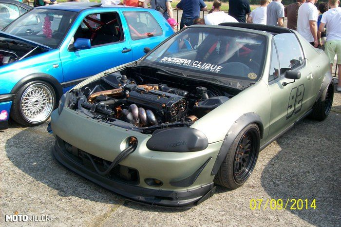 honda crx del sol army style cars. Black Bedroom Furniture Sets. Home Design Ideas