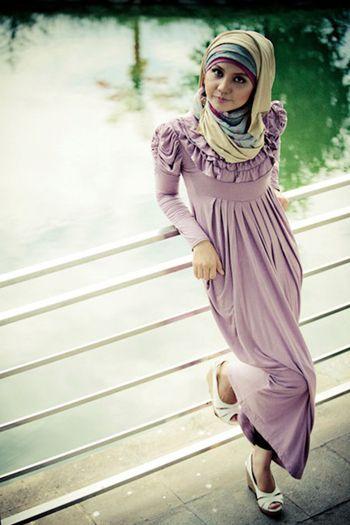 Long Dress Fashion Muslim for Women Pictures  Stylish Muslimah Hijab fashion styles. Ladies. Women clothing category