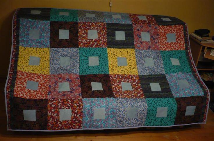 patchwork takaró 2008-ból