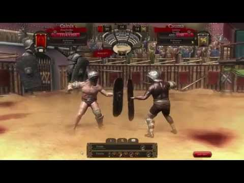 Gladiators Online - RAW Gameplay 3 - Gladiators Online [Death Before Dishonor] is a Free to play Combat management MMO blood sport Game that makes players the owner of a gladiator team in ancient Rome