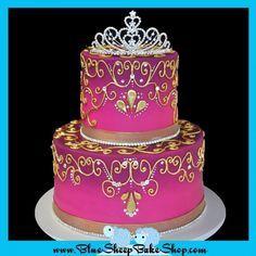 Indian Princess Birthday Cake
