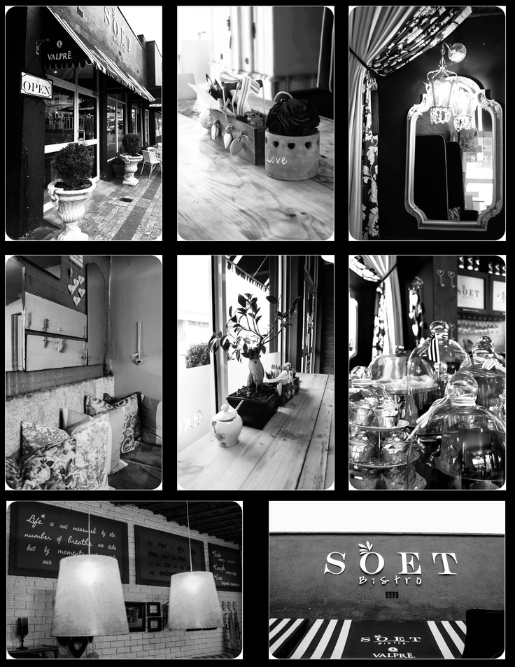 Soet Bistro/Coffee Shop situated in the heart of Durbanville. http://nadia-akester.blogspot.com/