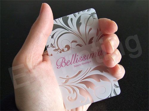 35 best business promotional products images on pinterest beauty transparent business cards quieres una tarjeta como esta con nosotros puedes tarjenova reheart Image collections