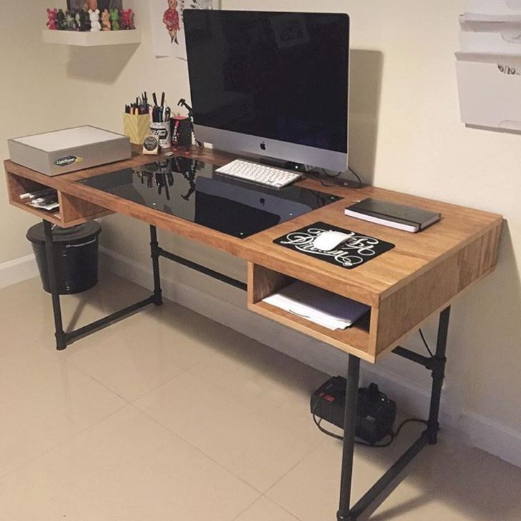36 easy and awesome diy desks you can build on a budget