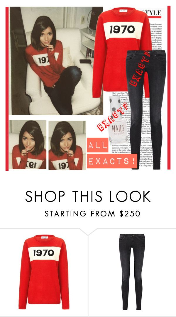 """ELEANOR CALDER INSPIRED OUTFIT <3"" by costina-raftu ❤ liked on Polyvore featuring Bella Freud, Acne Studios and Topshop"