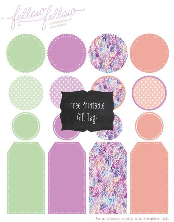 Free Printable Gift TagsFreebies Printables, Crafts Ideas, Gift Tags Printables Free, Free Tags Printables, Printables Tags, Printables Gift Tags Free, Free Gift Tags Printables, Fellows Fellows, Free Printables