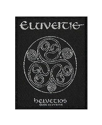 Eluveitie Helvetios Folk Metal Music Band Woven Badge Applique Patch