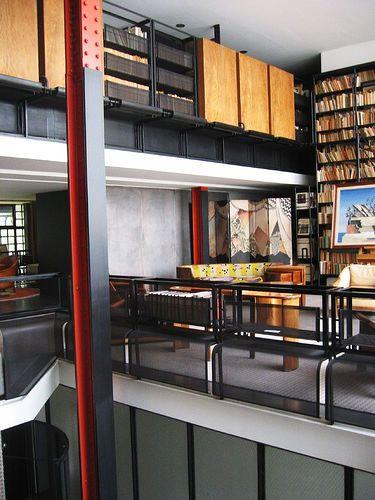 44 best images about pierre chareau on pinterest glasses - Maison de verre paris visite ...