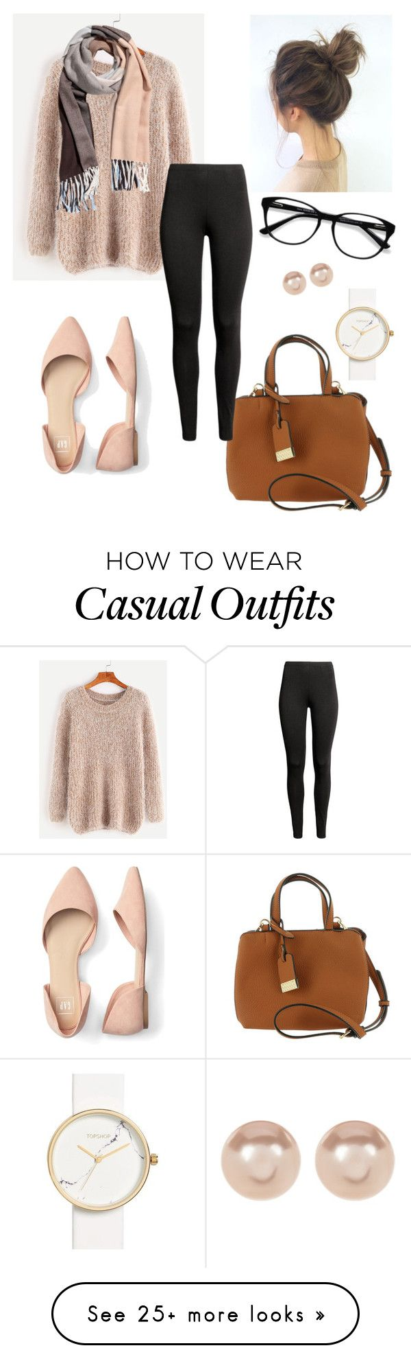 """""""work casual"""" by carlee-bradford on Polyvore featuring Urban Expressions, EyeBuyDirect.com, Nordstrom Rack and Topshop"""