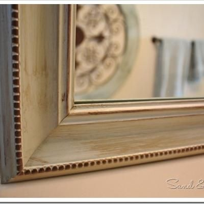Framing Your Bathroom Mirror. I Have Been Wanting To Do This For Years. I
