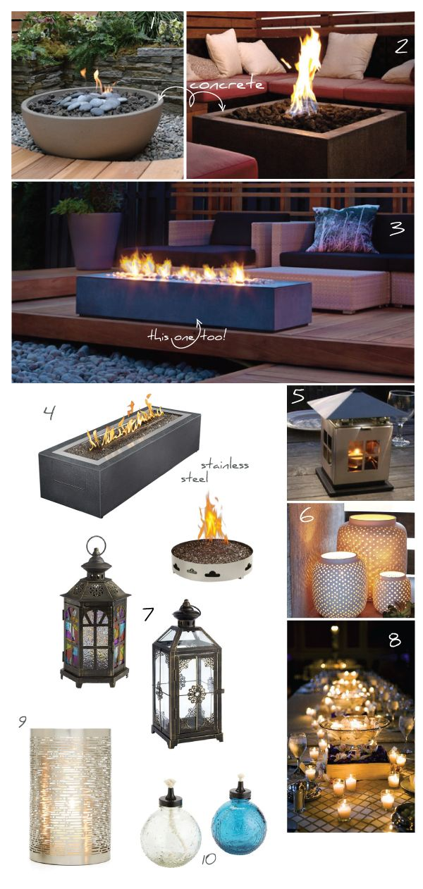 Outdoor Heaters And Lighting For Outdoor Space