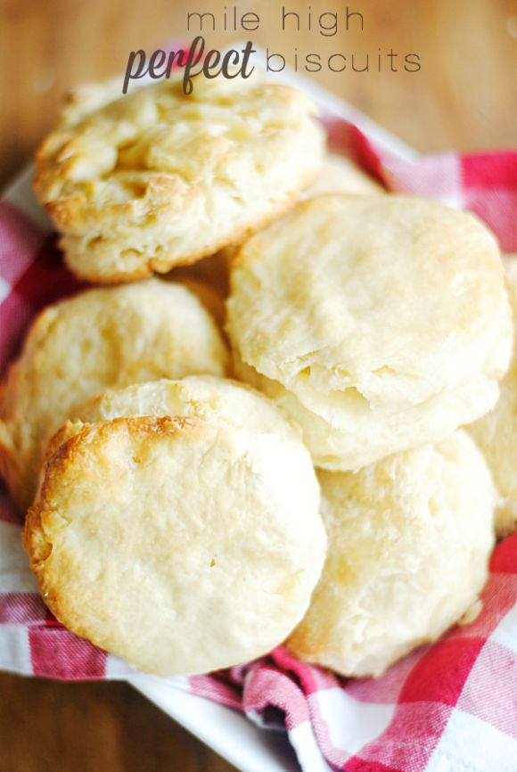 I spent years search for the perfect bicuit recipe, and THIS IS IT! Buttery and fluffed up a mile high.