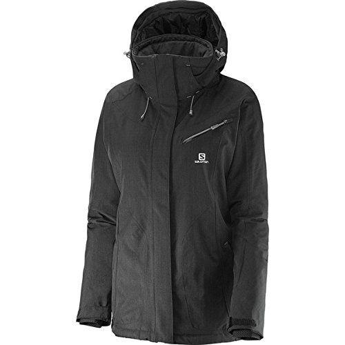 (サロモン) Salomon レディース スキー ウェア Fantasy Jacket 並行輸入品  新品【取り寄せ商品のため、お届けまでに2週間前後かかります。】 カラー:Black カラー:ブラック