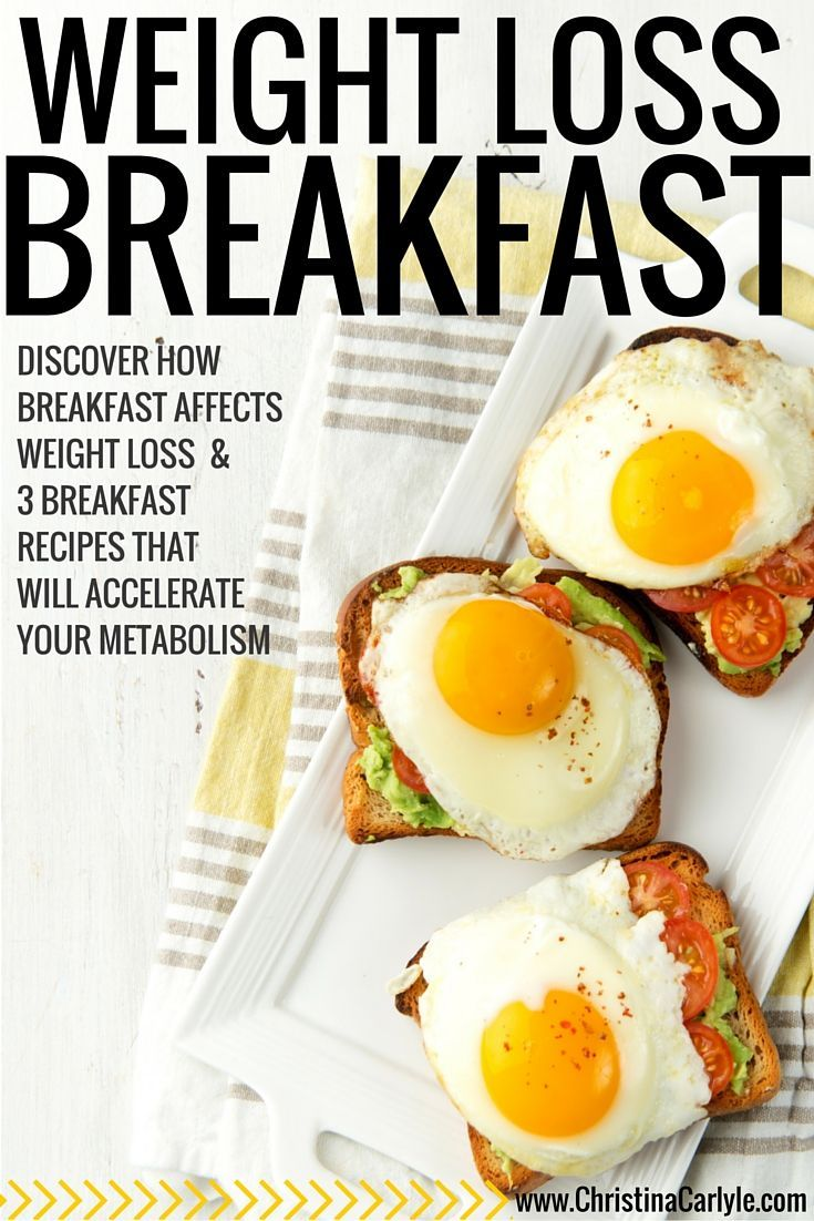 Discover how breakfast affects weight loss + 3 breakfast recipes that will accelerate your metabolism!