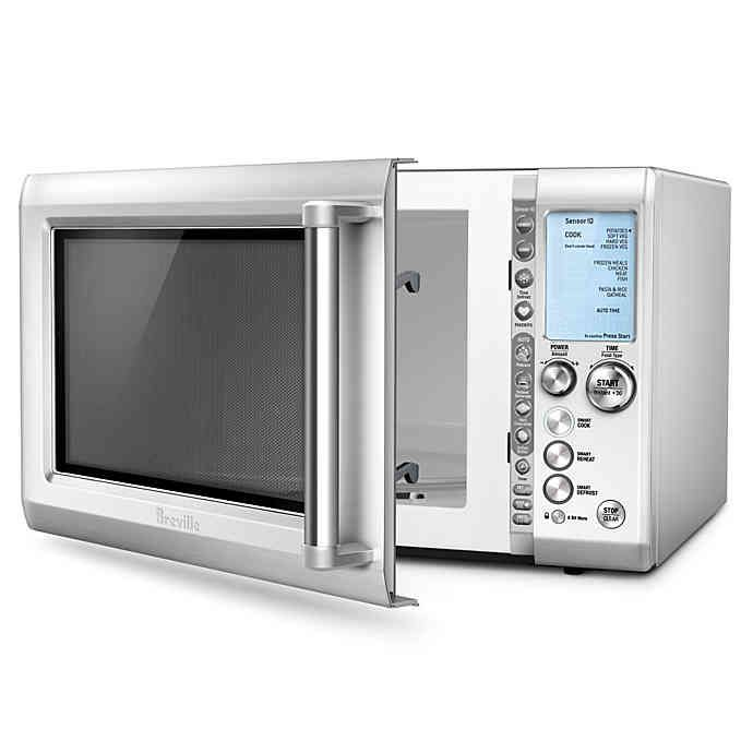 breville quick touch microwave bed