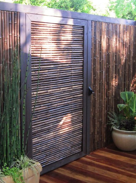 93 best images about bamboo fencing on pinterest Bamboo screens for outdoors